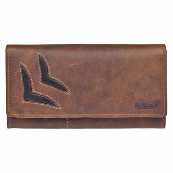 Dámská kožená peněženka (KDP18)
