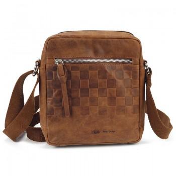 Pánská kožená taška přes rameno (KT33)