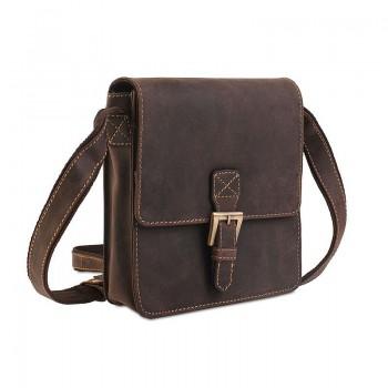 Značková kožená taška (KT40)