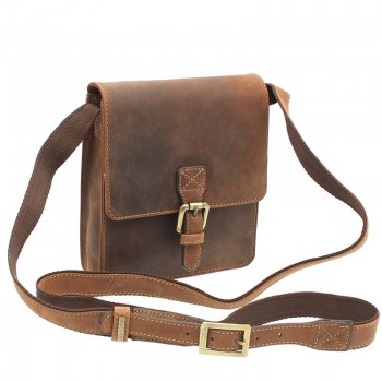 Značková kožená taška (KT41)