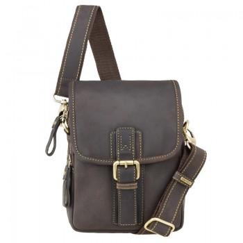 Značková kožená taška (KT52)