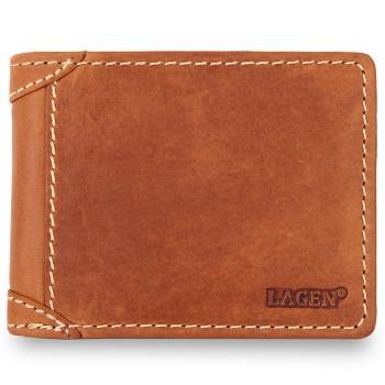 Značková pánská kožená peněženka (PPN166)