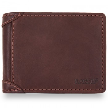 Značková pánská kožená peněženka (PPN168)