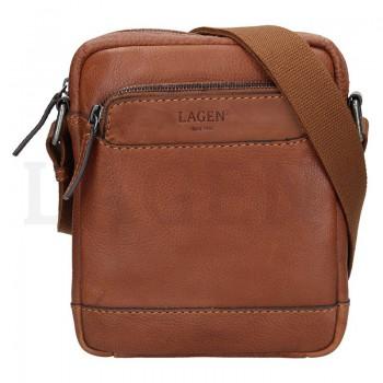 Pánská kožená taška přes rameno (GT63)