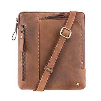 Značková kožená taška (KT65)