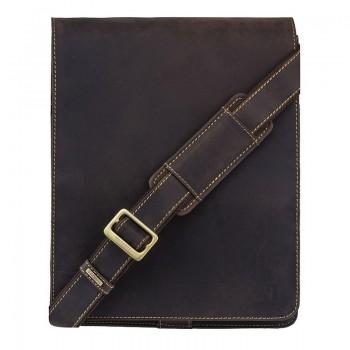 Značková kožená taška (KT66)