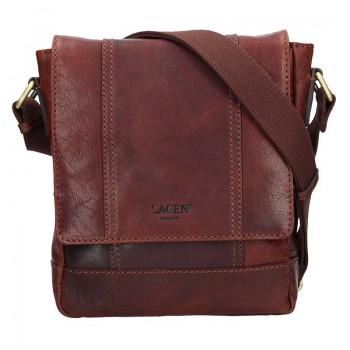 Pánská kožená taška přes rameno (KT68)