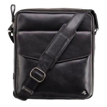 Značková kožená taška (KT77)