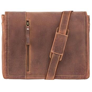 Značková kožená taška (KT81)
