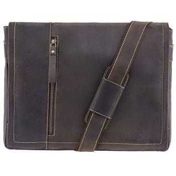 Značková kožená taška (KT82)