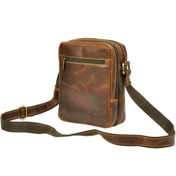 Pánská kožená taška přes rameno (KT88)