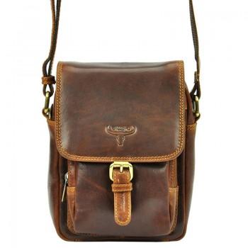 Pánská kožená taška přes rameno (KT89)