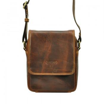 Pánská kožená taška přes rameno (KT100-2)