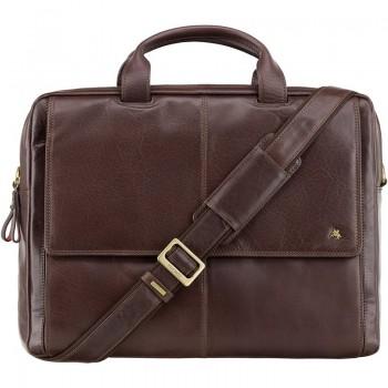 Značková kožená taška (KT97)