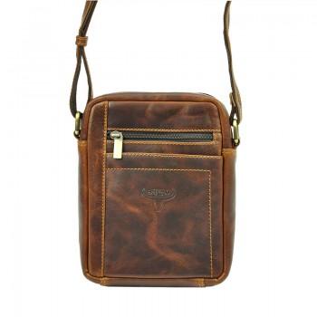 Pánská kožená taška přes rameno (KT103)