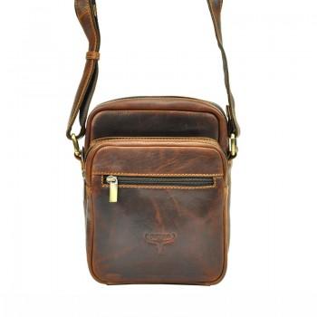 Pánská kožená taška přes rameno (KT104)