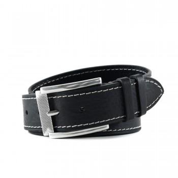 Značkový pánsky kožený pásek Hoffebelts (P229)