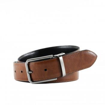 Oboustranný kožený pásek Hoffebelts (P224)