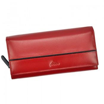 Dámská značková červená peněženka (KDP195)